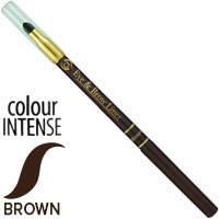 Colour Intense - Карандаш для глаз и бровей EVE-05 со спонжем Тон 02 коричневый матовый