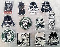 "Подборка ""Star Wars"" наклейки стикеры на ноутбук, скутер , скейт, шлем (083)"