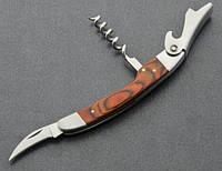 Барный складной нож 049 Штопор, нож для удаления фольги, открывалка для бутылок, фото 1