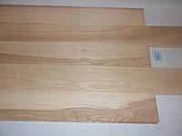 Массивная доска из ясеня 600*100*15 мм сорт натур с фаской без покрытия