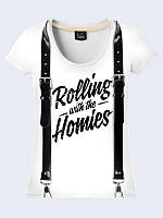Женсая футболка Rolling