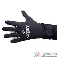 Перчатки 5-палые Sargan Amara gloves 1,5mm Агидель  L