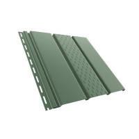 BRYZA Софит перфорированный зеленый / RAL 6020