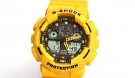 Модні наручні годинники Casio G-Shock (чорні), годинник Касіо