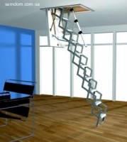 Горищні сходи Roto Scherentreppe Mini 120*70