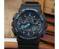 Наручные часы Casio G-Shock (Касио Джи Шок) – черно-синие