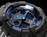 Часы Casio G-Shock (Касио Джи Шок) – черно-синие