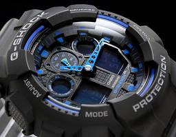 Годинник Casio G-Shock (Касіо Джі Шок) – чорно-сині