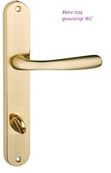 Дверная ручка Mars  латунь матовая