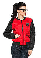 Яркая  женская куртка Майями (красный)