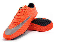 Футбольные сороконожки Nike Mercurial Victory TF Total Crimson/Metallic Silver/Black, фото 1