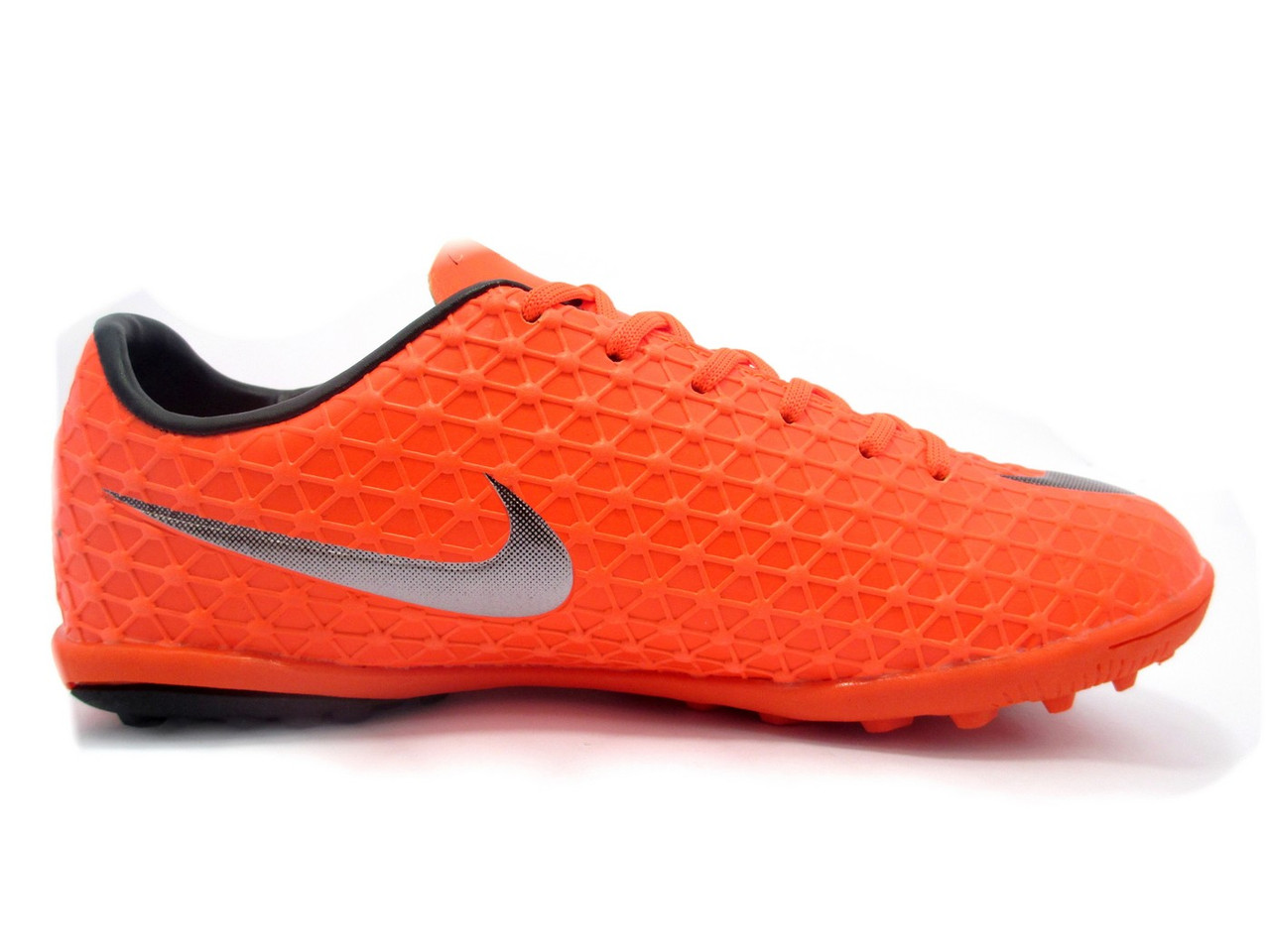 Футбольные сороконожки Nike Mercurial Victory TF Total Crimson/Metallic Silver/Black