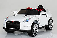 Детский электромобиль  Nissan T-797 GT-R WHITE***