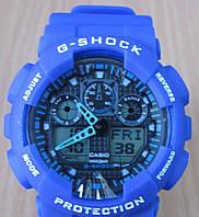 Наручные часы Casio G-Shock (Касио Джи Шок) – синие
