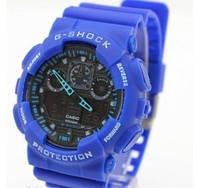 Мужские часы Casio G-Shock (Касио Джи Шок) – синие