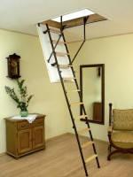 Чердачная лестница Oman STALLUX TERMO 120x60, 120х70