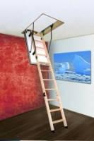 Чердачная лестница с усиленной теплоизоляцией Oman Polar 120x60, 120х70