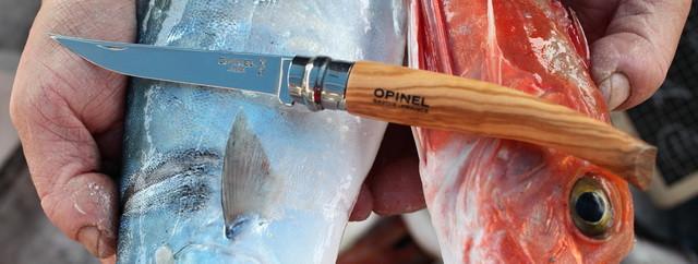 Опинель 10 филейник из оливового дерева Opinel Effile 10 oliva
