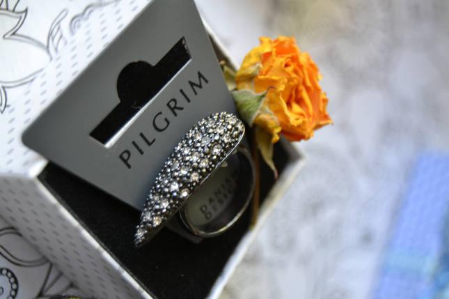 """Кольцо с покрытием """"темная латунь"""" PILGRIM, фото 2"""