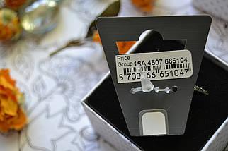 """Кольцо с покрытием """"темная латунь"""" PILGRIM, фото 3"""