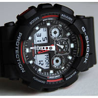 Часы Casio G-Shock (Касио Джи Шок) – черно-красные