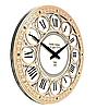 Часы настенные классические (45 см) светлые [МДФ, Открытые]
