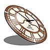 Необычные настенные часы (45 см) [МДФ, Открытые], фото 2