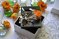 Массивное кольцо с камнями Pilgrim