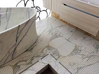 Мармурова підлога (Calacatta)