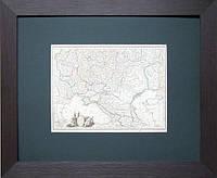 Украина. Старинная карта, 1812 г.