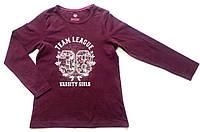 Якісний модний реглан на для дівчинки Lupilu Німеччина 110 116 зростання