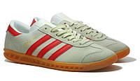 Кроссовки Adidas Hamburg GREY-RED