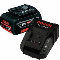 Аккумулятор Bosch Li-Ion 18 В 4,0 Ач + зар. устр AL1860 CV