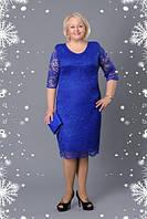 Женское платье больших размеров Донна р 52