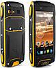 Защищенный смартфон Sigma mobile X-treme V11 3G,4G  yellow (желтый)