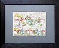 Экономический раздел мира (1929 г.). Карта мира