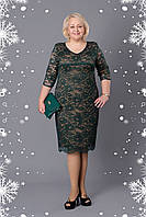 Женское платье больших размеров Донна р 52,54.58