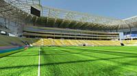 Стадион во Львове называют современным, но в то же время легким и бюджетным.