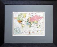 Карта Мира. Империализм. Современный раздел мира. Конец 1920-х гг.