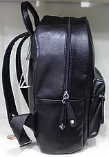 Ранец Рюкзак Стильный Искусственная Экко-кожа Гладкая K 17-501-3, фото 2
