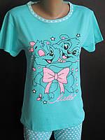 Хлопковые пижамы на лето женские., фото 1