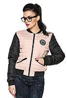 Молодежная  женская куртка Майями (розовый)