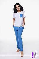 Пижама БАТАЛ штаны+футболка 10/992