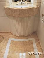 Мраморные столешницы для ванной