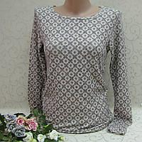 Свитер женский из мягкого вязаного полотна, НОРМА, 100% cotton, Турция. Женские кофточки, свитера, кофты , фото 1