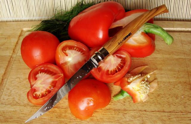 филейный нож опинель Opinel 12 VRI Effiles, олива