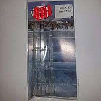 Лавсановый кивок рессорного типа (Балансирный №13) 150 мм. (test 22-35) 5шт.