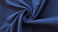 Ткань Креп-шифон Темно-синий
