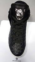 Мужские ботинки в стиле  Philipp Plein, шнуровка, фото 1