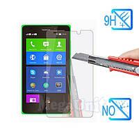 Защитное стекло для экрана Nokia X твердость 9H, 2.5D (tempered glass)